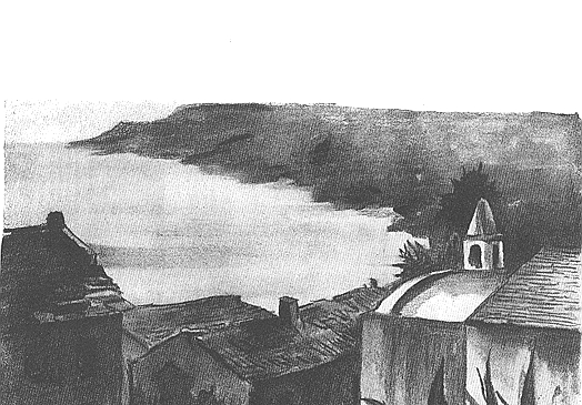 Porticciolo: Sa chapelle... Image littéraire..